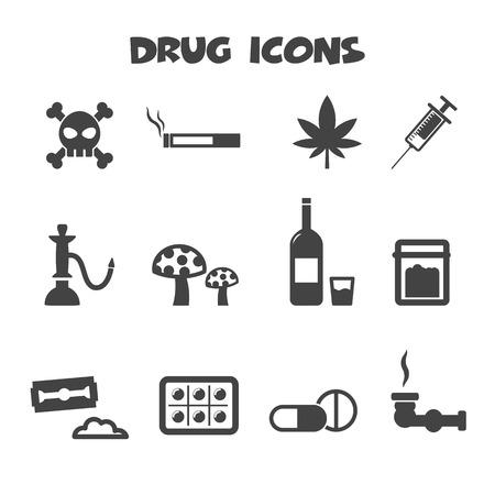 drug icons symbols