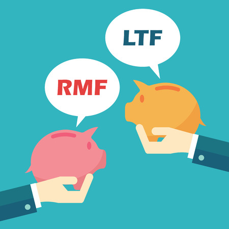 rmf and ltf, mutual funds concept