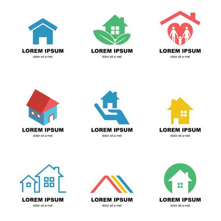 home logo, vector elements design