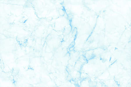 Foto de Blue pastel marble texture background with high resolution in seamless pattern for design art work and interior or exterior. - Imagen libre de derechos