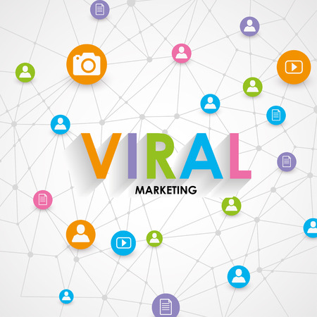 digital marketing concept viral marketing vector illustration royalty free vector graphics digital marketing concept viral