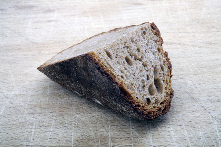 Piece of brown bread