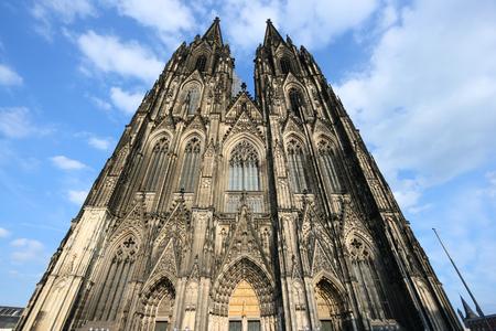 Cologne Cathedral - landmark in Germany. Region of North Rhine-Westphalia.