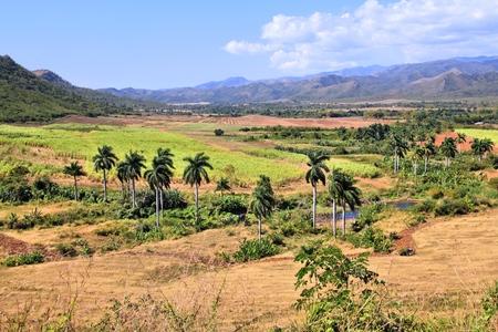 Sugar Mill Valley in Trinidad, Cuba.
