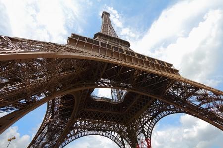Photo for Paris, France - the Eiffel Tower. World landmarks. - Royalty Free Image