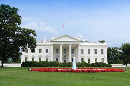 Photo for White House in Washington D.C. United States national landmark. - Royalty Free Image