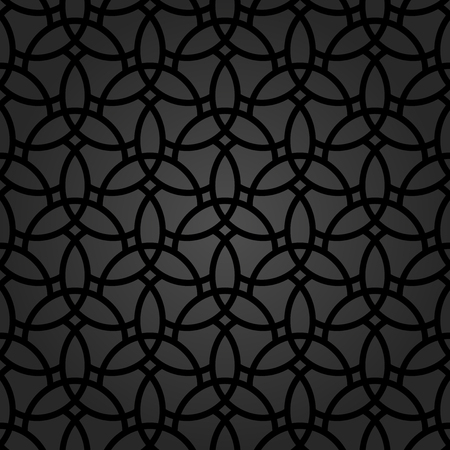 Fine geometric  pattern with oriental elements. Seamless fine ornament for wallpapers and backgrounds