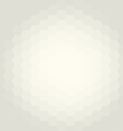 Geometric abstract vector background. Pattern with light yellow hexagons and flow effect