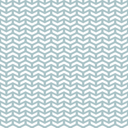 Geometric vector pattern with white arrows. Seamless abstract background