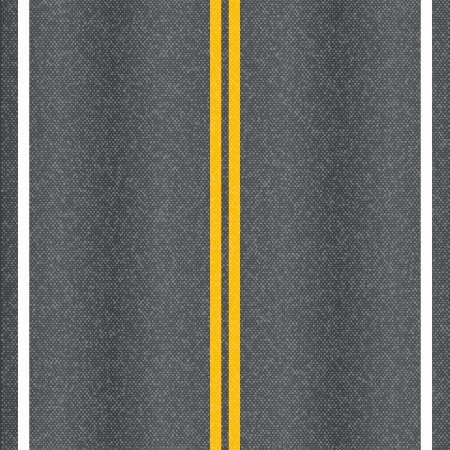 Asphalt road texture with marking lines