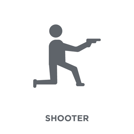 Shooter icon. Shooter design concept from Arcade collection. Simple element vector illustration on white background.