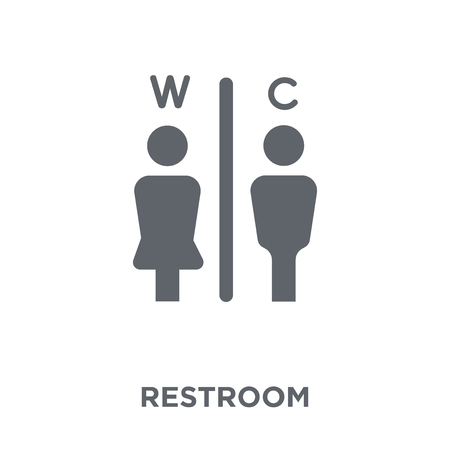 Illustration pour Restroom icon. Restroom design concept from Hotel collection. Simple element vector illustration on white background. - image libre de droit