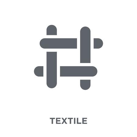 Illustration pour textile icon. textile design concept from  collection. Simple element vector illustration on white background. - image libre de droit