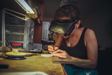 Photo pour The handmade jewellery - image libre de droit