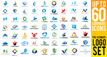 Business Corporate Vectors  Creative Business Icons collection. Business Icons Set.