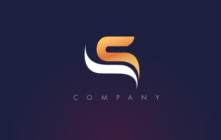 S Logo.S Letter Icon Design Vector Illustration.