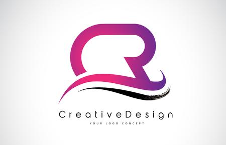 CR Letter symbol Design