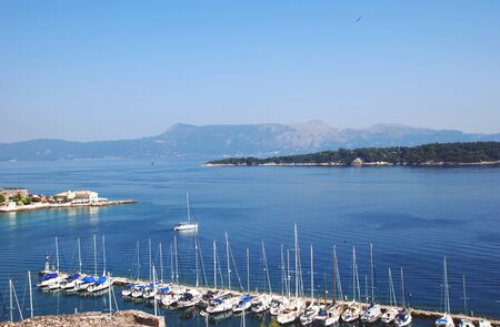 View from the fortress in Kerkyra, Corfu, Greece