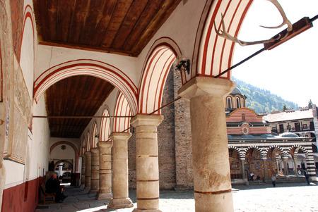 Monastery of St John Rilski, Rila Mountain, Bulgaria