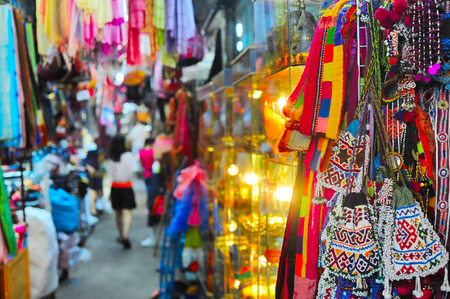 Photo for Chatuchak weekend market in Bangkok, Thailand. It is the largest market in Thailand.  - Royalty Free Image