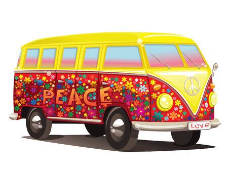 Illustration pour fun bus - image libre de droit