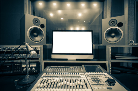 Photo for music studio - Royalty Free Image