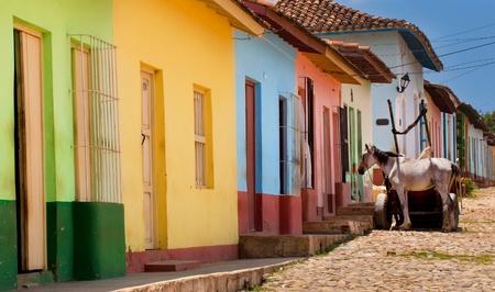 Street in Trinidad, Cuba
