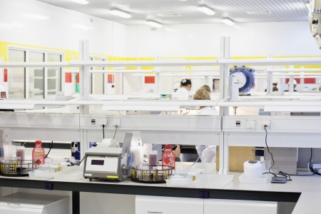 The image of chemical lab equipment