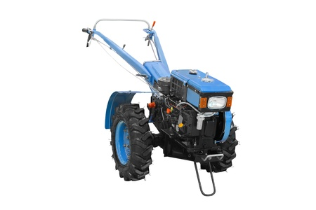 The image of agricultural equipment under the white background