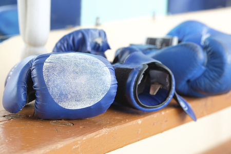 boxing gloveses close up