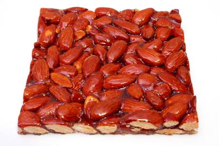 crunchy almonds