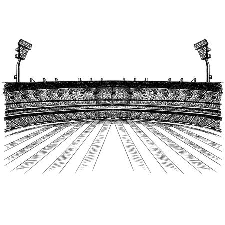 Illustration for Stadium Ground - Royalty Free Image
