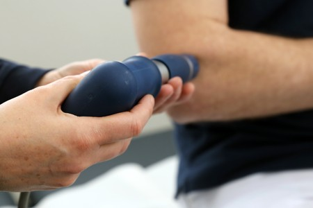 Photo for Shockwave therapy - Royalty Free Image