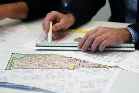 Urban Development plan, close-up