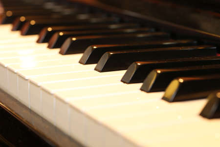 Photo for Close up of a piano - Royalty Free Image
