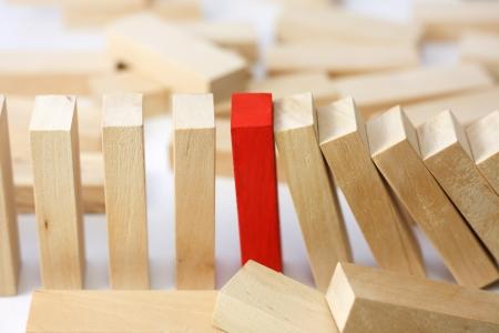 Foto de Leadership and team abstract business concept - Imagen libre de derechos