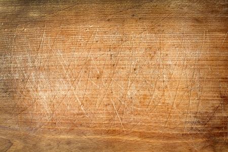 Old grunge wooden cutting kitchen desk board
