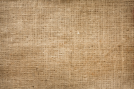 Burlap jute canvas vintage background