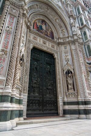 Florence Cathedral, formally the Cattedrale di Santa Maria del Fiore, in English Cathedral of Saint Mary of the Flower, is the cathedral of Florence, Italy.