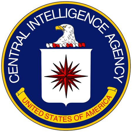 Foto de Seal of the Central Intelligence Agency CIA of the United States of America with seat in Langley - USA. - Imagen libre de derechos