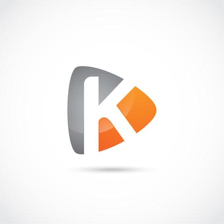Illustration pour Abstract Letter Logo, Initial Company. modern logo design - image libre de droit