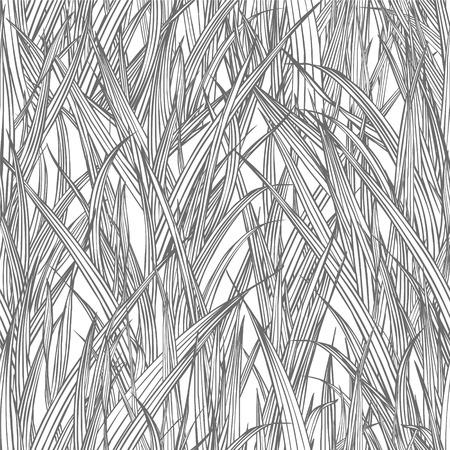 Seamless linear pattern - grass