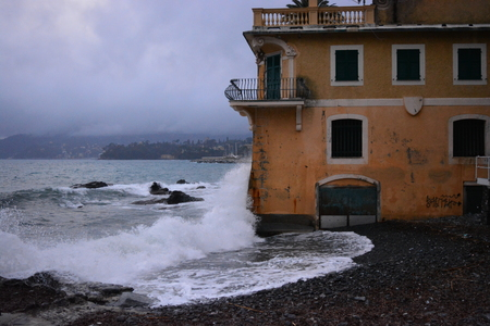 The Mediterranean sea After Storm