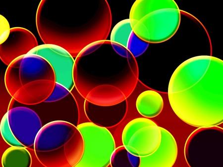 green magic circles - green ne magic circles