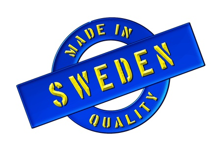 Made in Sweden - Quality seal for your website, web, presentation