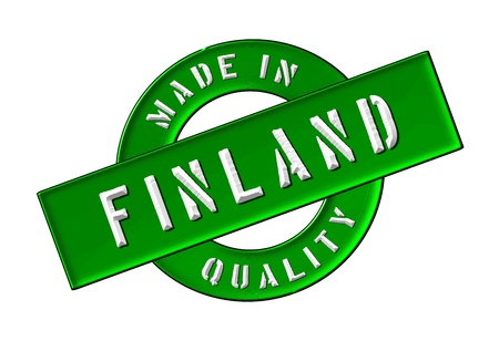 Made in Finland - Quality seal for your website, web, presentation