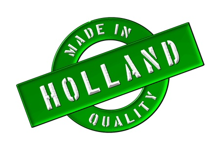 Made in Holland - Quality seal for your website, web, presentation