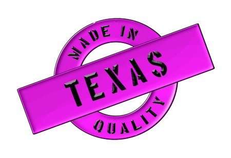 Made in Texas - Quality seal for your website, web, presentation