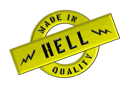 Made in Hell - Quality seal for your website, web, presentation