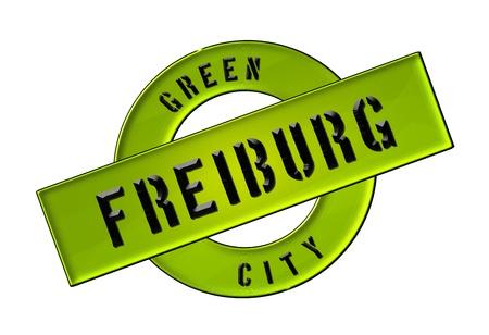 GREEN CITY FREIBURG - Zeichen, Symbol, Banner fuer Prospekte, Flyer, Internet, ...